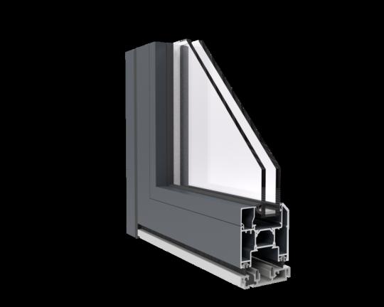 Systemy przesuwne aluminium