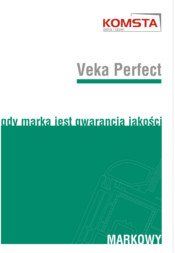 Katalog Profile Okienne Veka Perfect
